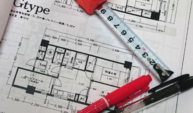 画像 住宅の設計図