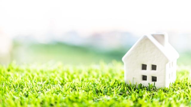 住宅の模型の写真
