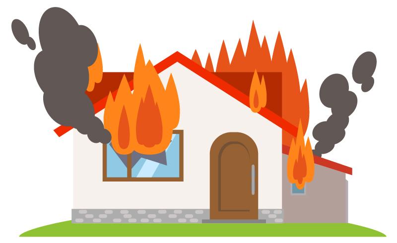 火災保険《台風での水害・落雷・強風》に備える保険
